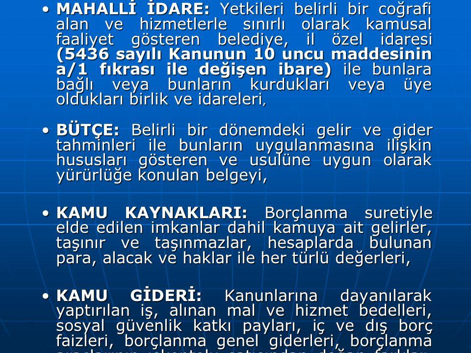 ÖDENEK AKTARMALARI ÖDENEK AKTARMALARI Merkezi yönetim kapsamındaki kamu idarelerinin bütçeleri arasındaki ödenek aktarmaları kanunla yapılır.