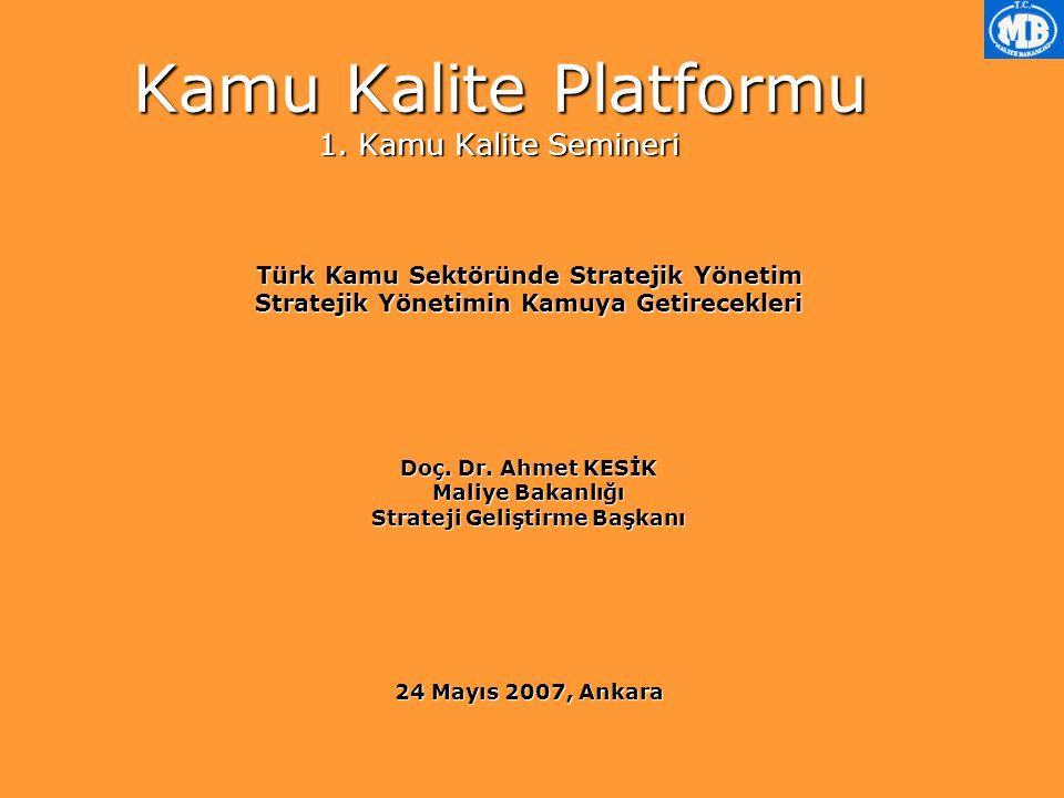 Kamu Kalite Platformu 1.