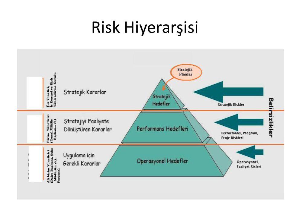Risk Hiyerarşisi