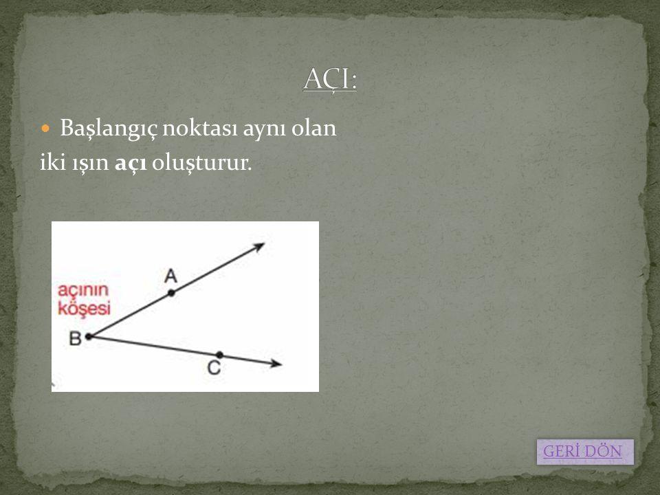 Bir açısının ölçüsü 90° den büyük olan üçgenlere denir.