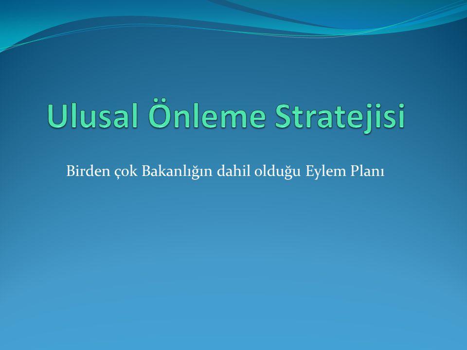 Birden çok Bakanlığın dahil olduğu Eylem Planı