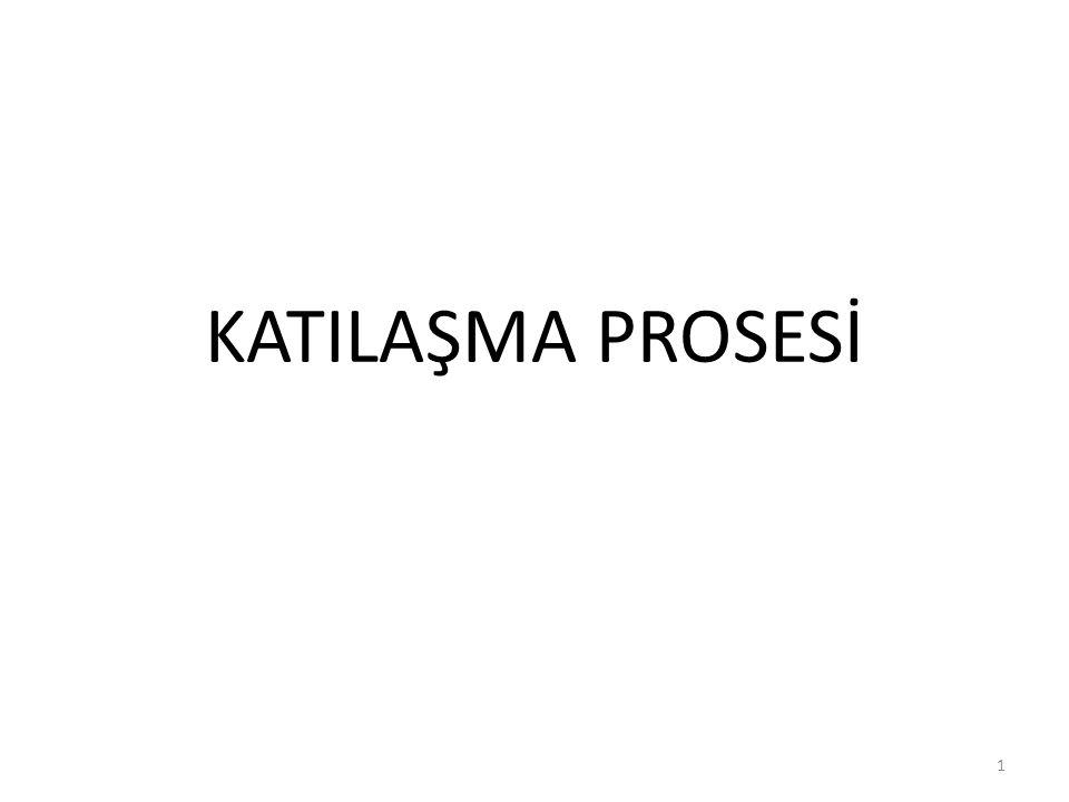 KATILAŞMA PROSESİ 1