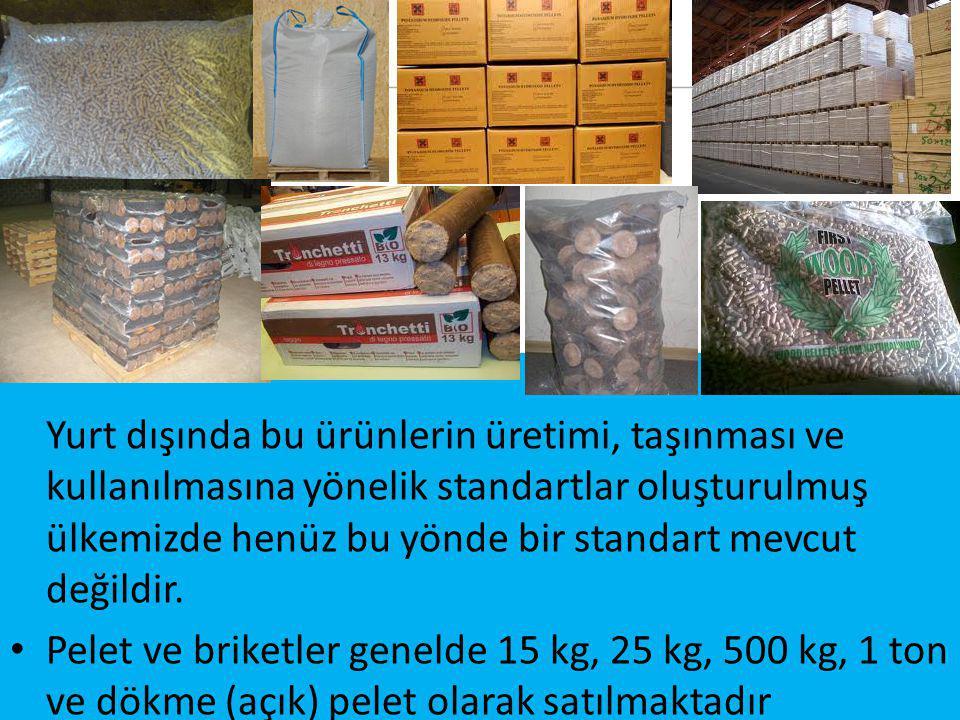 43 Yurt dışında bu ürünlerin üretimi, taşınması ve kullanılmasına yönelik standartlar oluşturulmuş ülkemizde henüz bu yönde bir standart mevcut değildir.