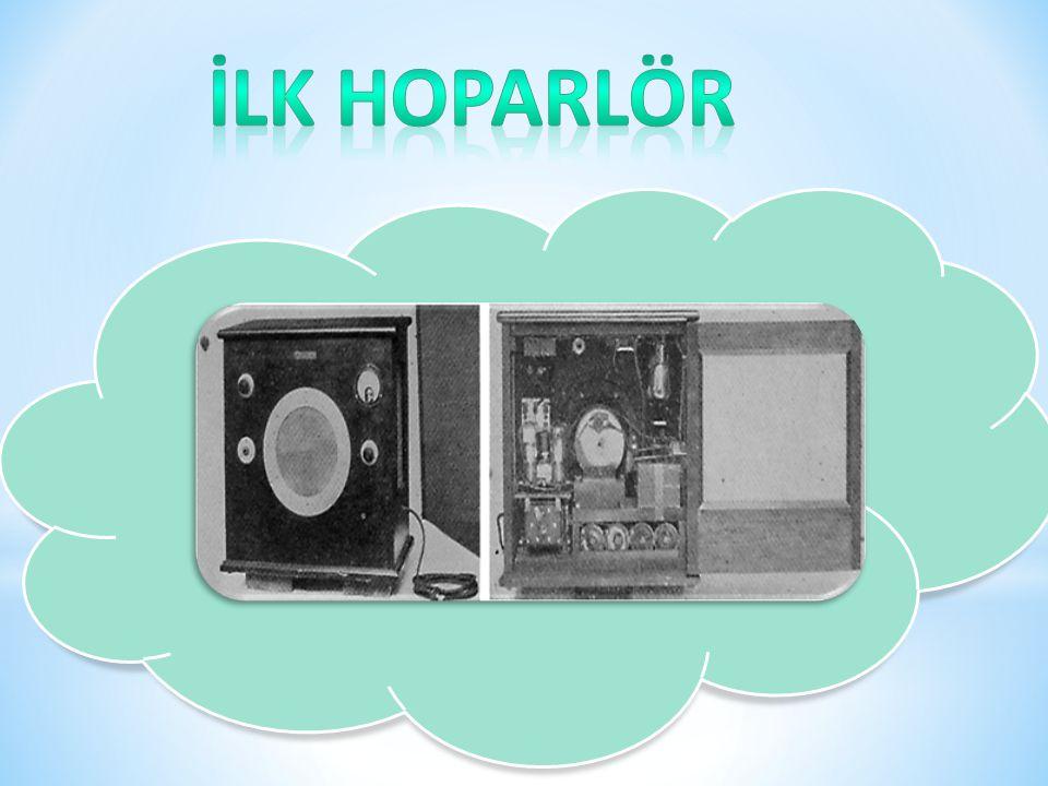 6 İlk hoparlör Rice ve Kellogg tarafından 1924-1925 yıllarında yapılmıştır.