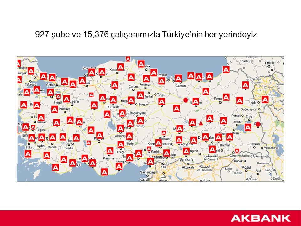 Akbank: ''Türkiye'nin En Değerli Banka Markası'' Akbank marka değeri (1) : 1,582,000,000 $ (1)Uluslararası marka değerlendirme kuruluşu Brand Finance tarafından hazırlanan ''Dünyanın En Değerli Banka Markası – 2012''