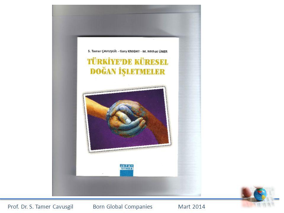 Prof. Dr. S. Tamer CavusgilBorn Global CompaniesMart 2014