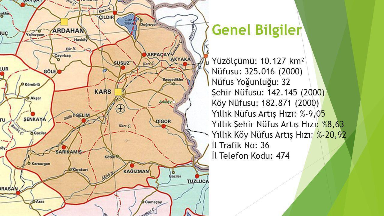 Genel Bilgiler Yüzölçümü: 10.127 km² Nüfusu: 325.016 (2000) Nüfus Yoğunluğu: 32 Şehir Nüfusu: 142.145 (2000) Köy Nüfusu: 182.871 (2000) Yıllık Nüfus A