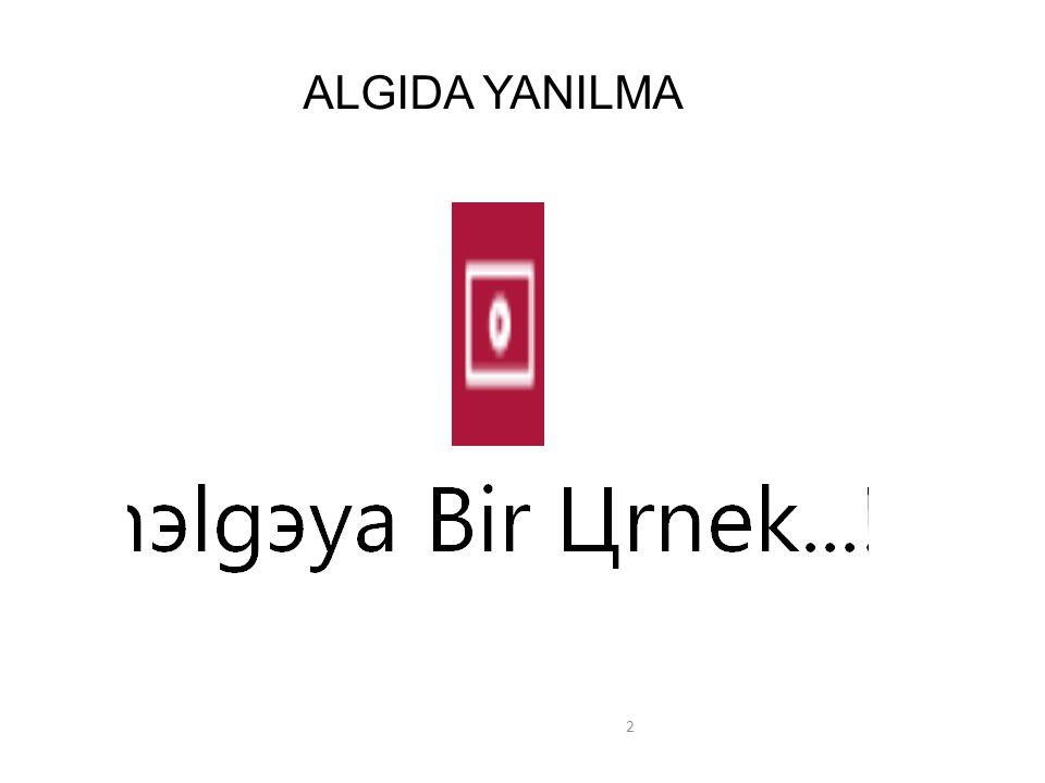 ALGIDA YANILMA 2