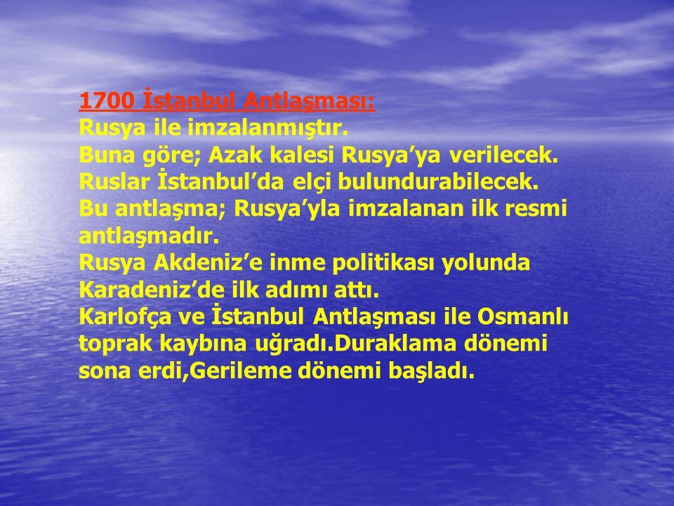 4-1683-1699 Osmanlı –Kutsal İttifak Savaşları: II.