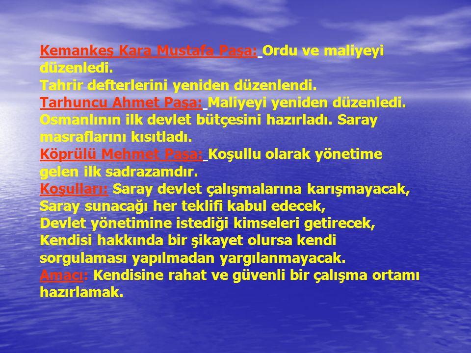 I.Ahmet Dönemi: Ekber ve Erşed sistemi başlatılmıştır.