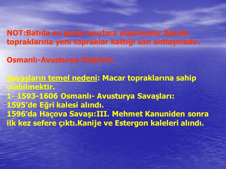 Osmanlı-Lehistan İlişkileri: Lehistan Sokullu Döneminde Osmanlıya bağlanmıştır.1587'de Osmanlı himayesinden kurtulmuş, Eflak,Boğdan ve Erdel beyliklerinin iç işlerine karışmaya başlamışlardır.Bu durum üzerine II.