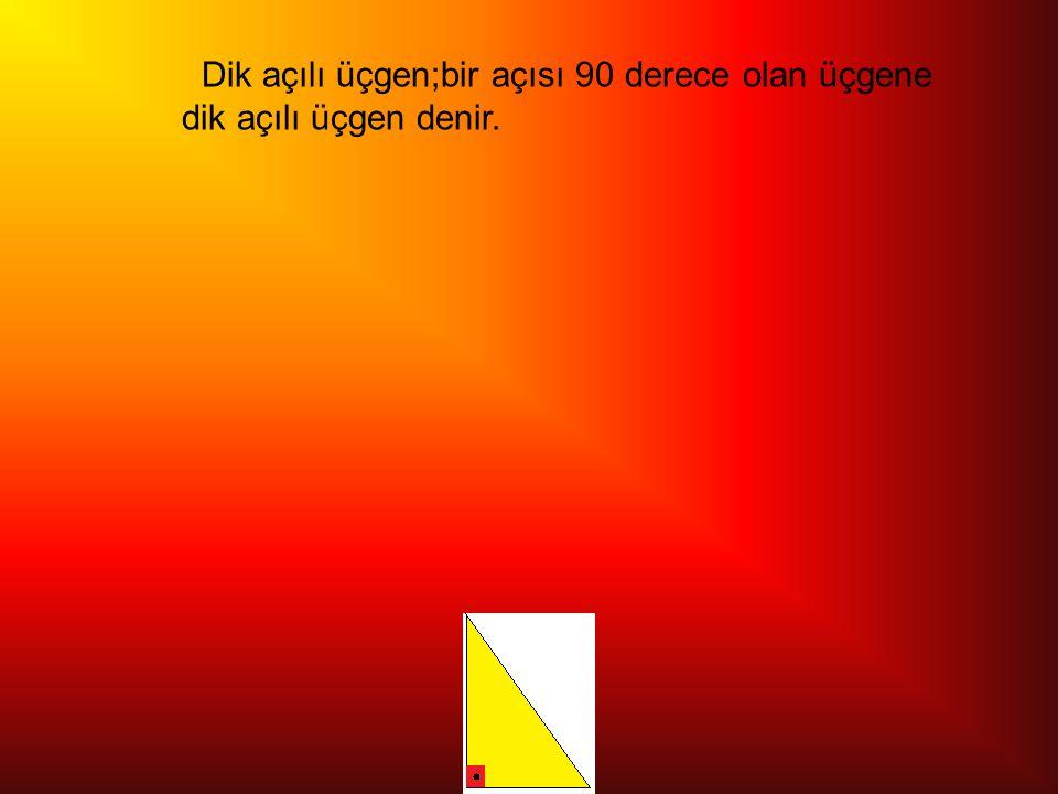 İkiz kenar üçgen; iki açısı eşit ve köşe uzunlukları aynı uzunluktadır.Diğer açısı ve köşesi farklı olan üçgendir.