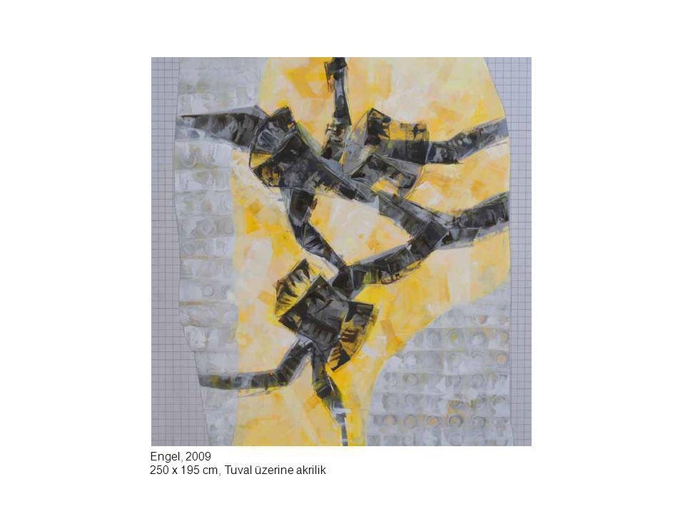 Engel, 2009 250 x 195 cm, Tuval üzerine akrilik