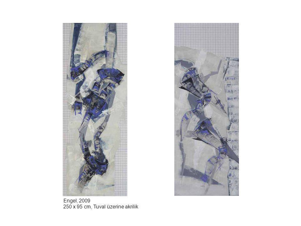 Engel, 2009 250 x 95 cm, Tuval üzerine akrilik