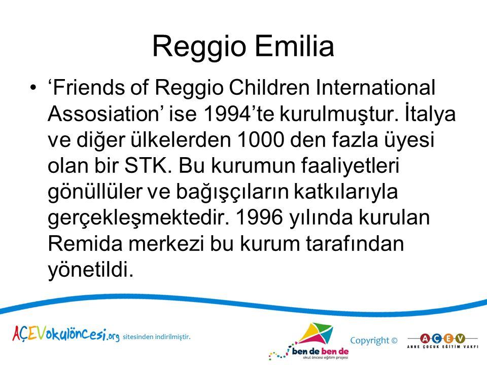 Öğretmenin Araştırmacı Rolü –Çocuklarla birlikte öğretmen de öğrenen rolünde.