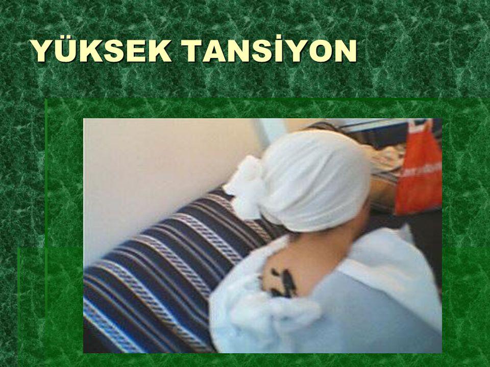 YÜKSEK TANSİYON
