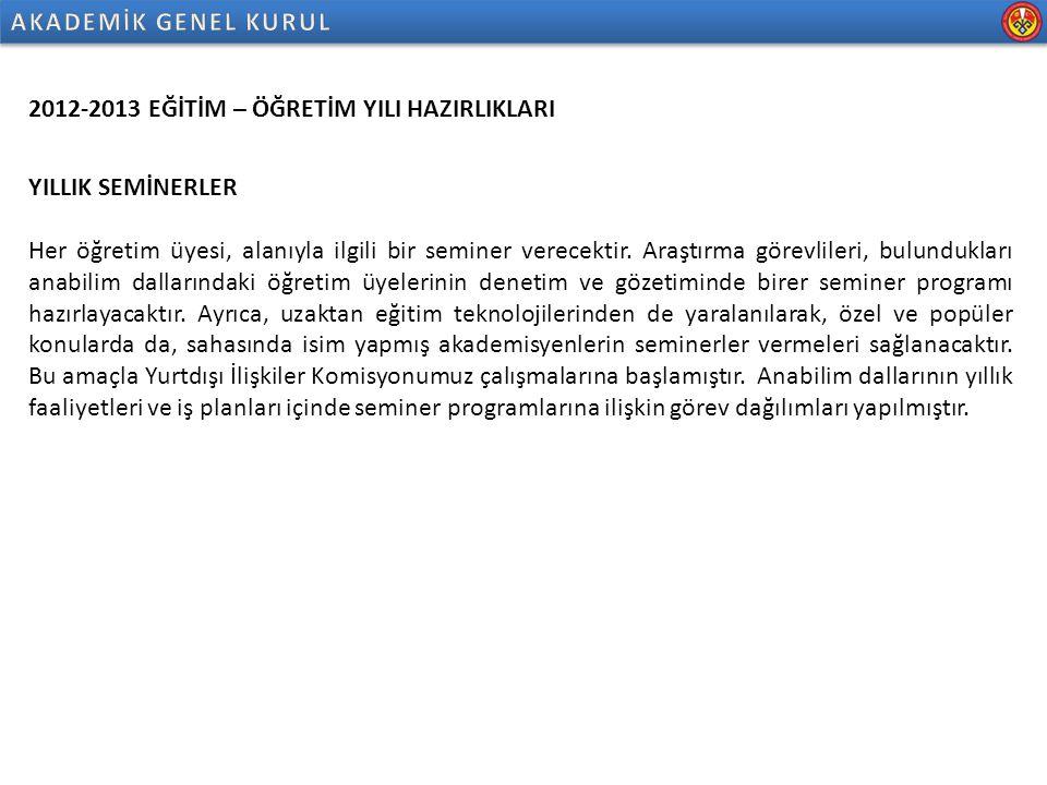 Kırgızistan-Türkiye Manas Üniversitesi Veteriner Fakültesi 2013-2014 Seminer Listesi