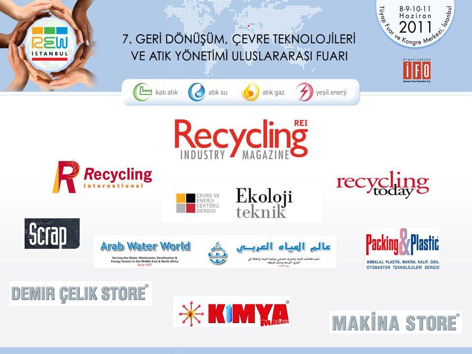 2011 Hedeflerimiz 35 ülkeden 350 firma katılımı.3 salonda 9.000 m 2 net stand alanı.