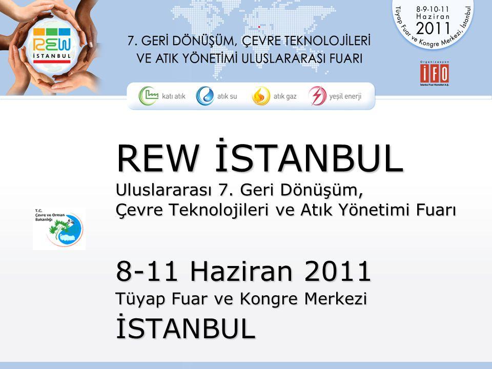 REW İSTANBUL Uluslararası 7.
