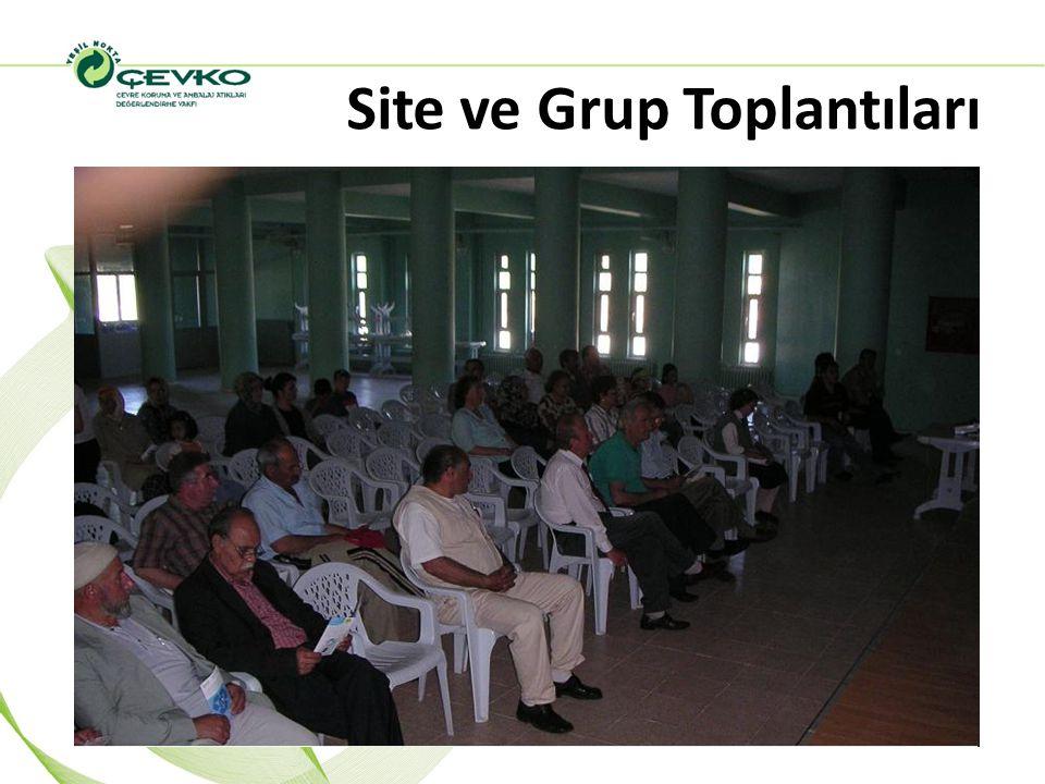 Site ve Grup Toplantıları