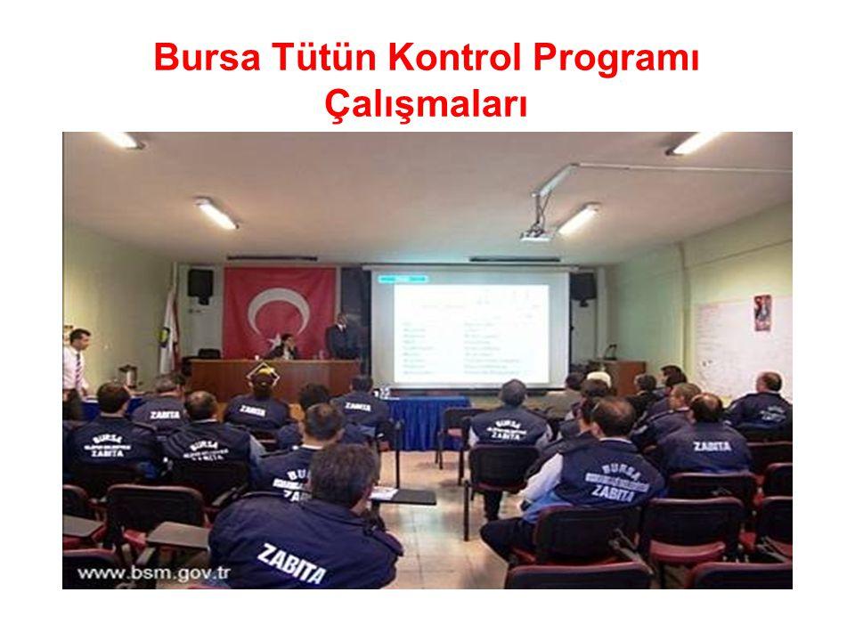 Bursa Tütün Kontrol Programı Çalışmaları