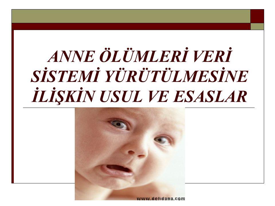 KOMİSYONLAR  İl Anne Ölümlerini Tespit ve Önleme Birimi  İl İnceleme Komisyonu