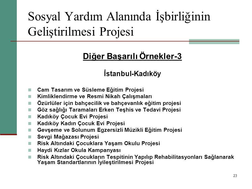 23 Sosyal Yardım Alanında İşbirliğinin Geliştirilmesi Projesi Diğer Başarılı Örnekler-3 İstanbul-Kadıköy Cam Tasarım ve Süsleme Eğitim Projesi Kimlikl