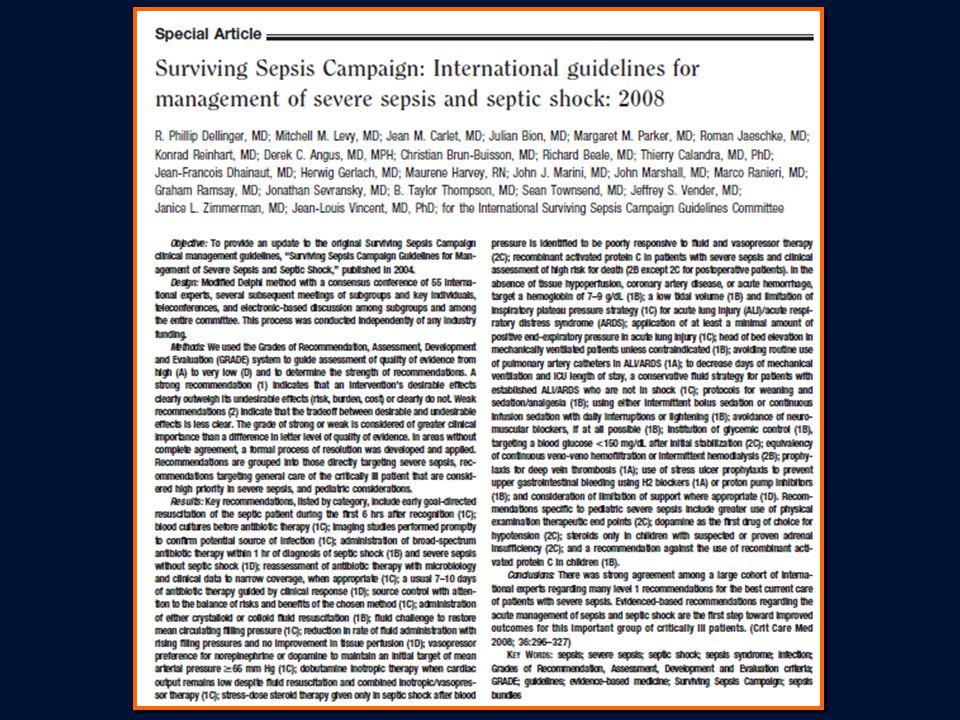 Sepsis Resusitasyon Demetlerinin Uygulanması : İlk 6 saatte yapılması gerekenler www.ihi.org www.ssc.sccm.org