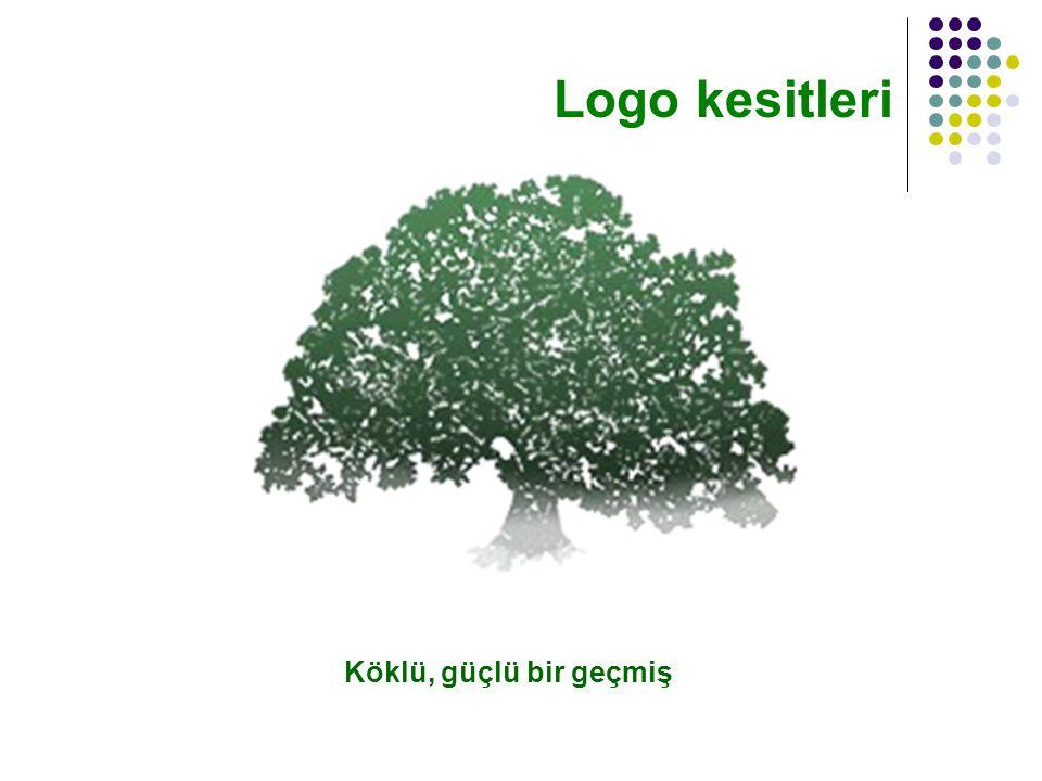 Köklü, güçlü bir geçmiş Logo kesitleri