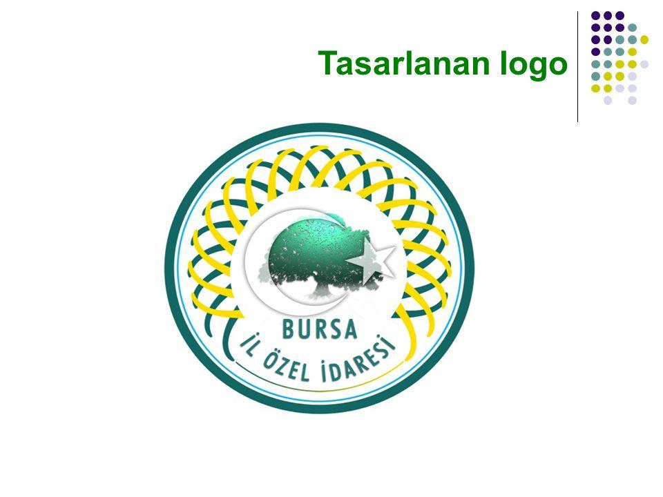 Tasarlanan logo