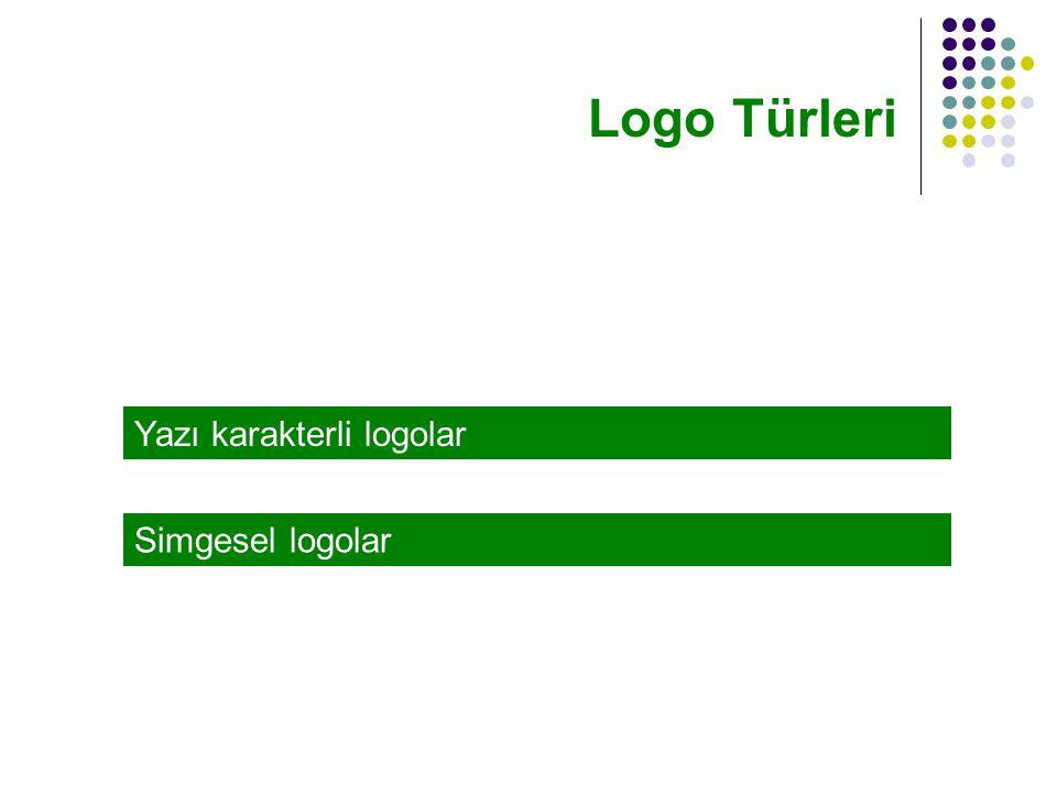 Yazı karakterli logolar Logo Türleri Simgesel logolar