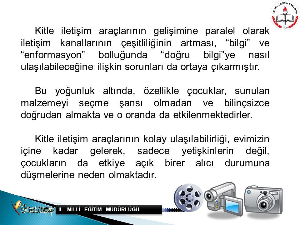 Medya Okuryazarlığı dersi ilköğretim okullarımızın bir çoğunda, yıllık dergiler, okul gazetesi ve duvar gazeteleri olarak kendini göstermiş, bir çok ilköğretim okullarımızda araştırmacı minik gazetecilerin çıkmasına vesile olmuştur.