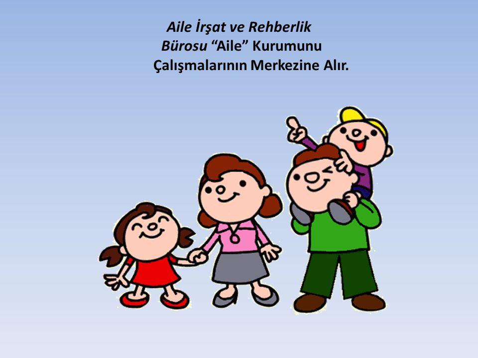 """Aile İrşat ve Rehberlik Bürosu """"Aile"""" Kurumunu Çalışmalarının Merkezine Alır."""