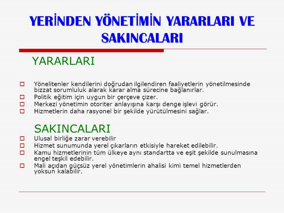16  Türkiye, Osmanlı Devleti'nden 389 belediye devralçıştır.