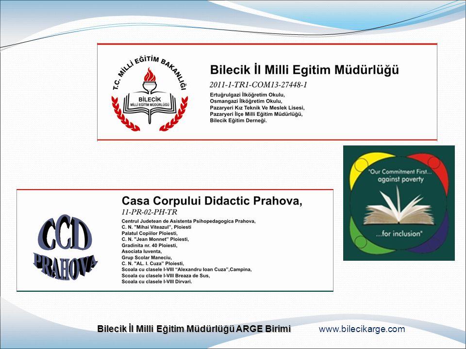Bilecik İl Milli Eğitim Müdürlüğü ARGE Birimi Bilecik İl Milli Eğitim Müdürlüğü ARGE Birimi www.bilecikarge.com