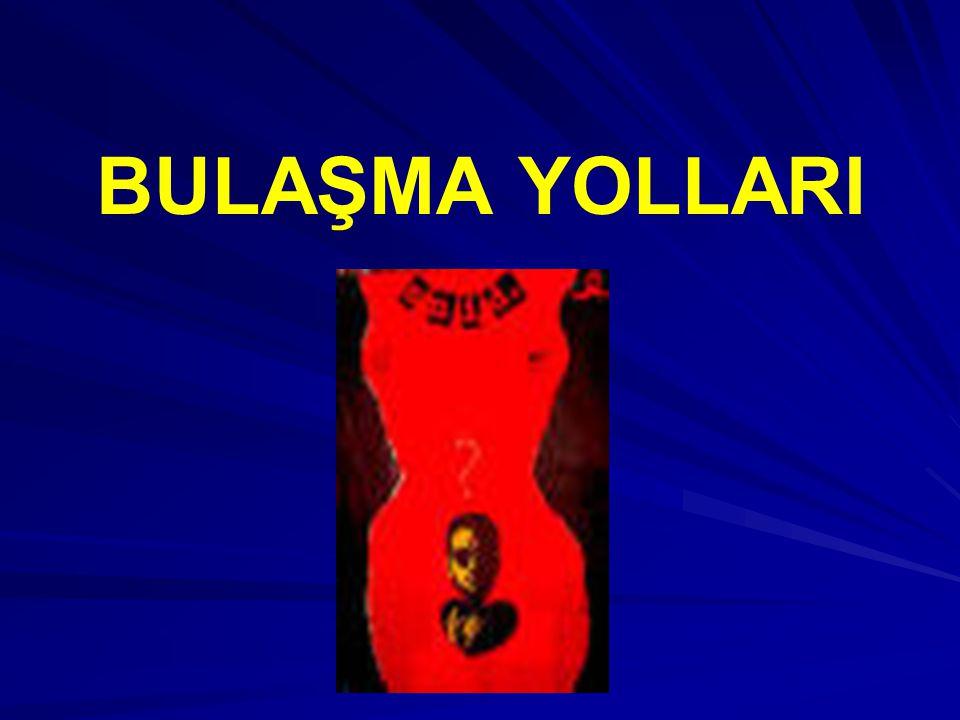 BULAŞMA YOLLARI