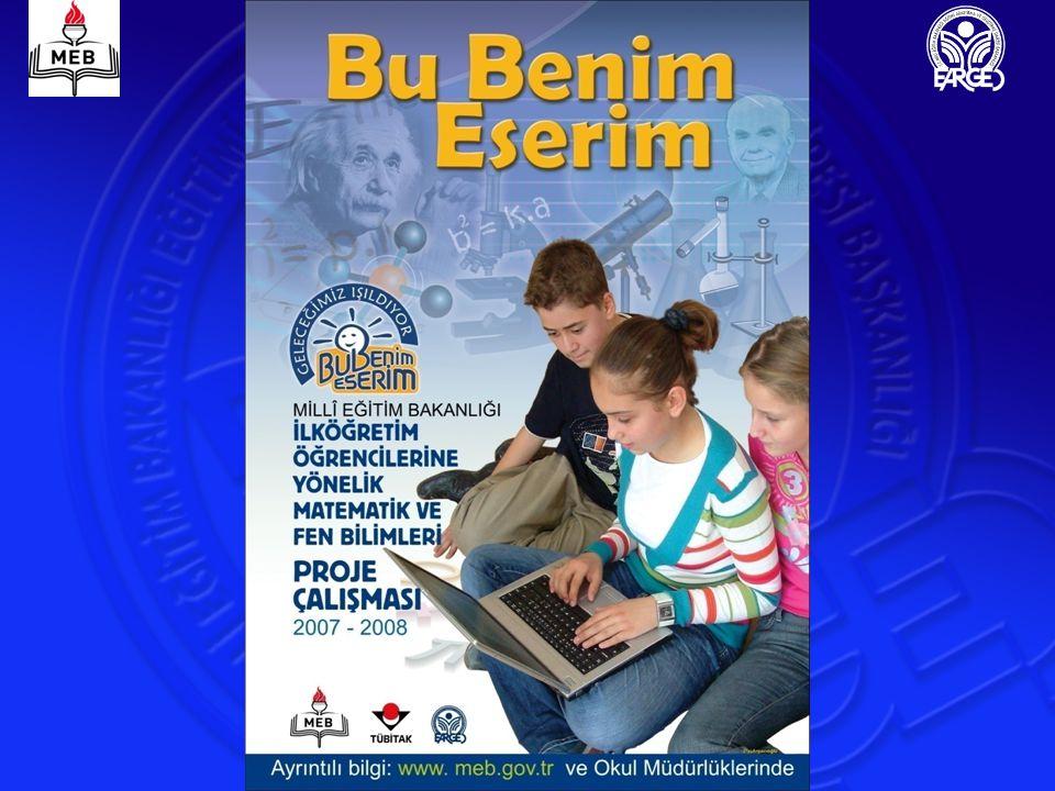 2006-2007 Proje Uygulaması 2006-2007 eğitim-öğretim yılında proje çalışması, ilköğretim kategorisinde 10 bölge merkezi ve bunlara bağlı iller belirlenerek 81ilde ilköğretim okullarında matematik ve fen bilimleri alanlarında gerçekleştirilmiştir.