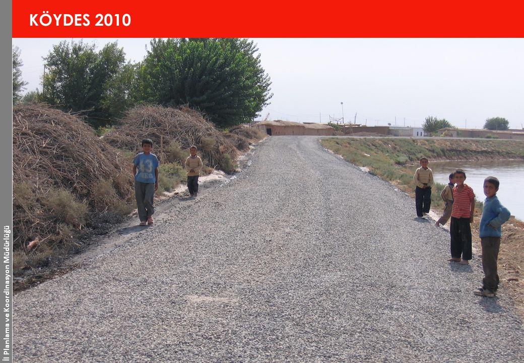 İl Planlama ve Koordinasyon Müdürlüğü 11 www.sanliurfa.gov.tr 20.11.2014 KÖYDES 2010