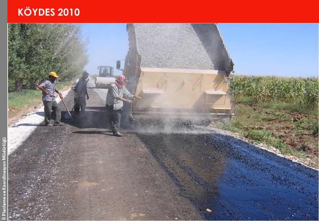 İl Planlama ve Koordinasyon Müdürlüğü 10 www.sanliurfa.gov.tr 20.11.2014 KÖYDES 2010