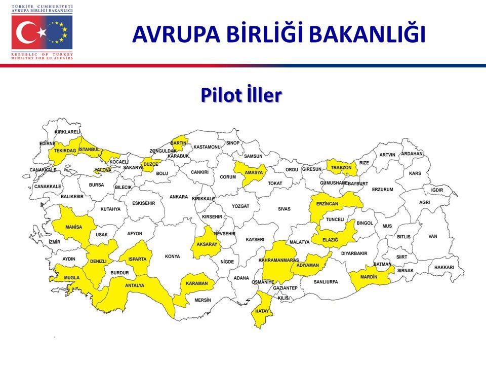 Pilot İller AVRUPA BİRLİĞİ BAKANLIĞI