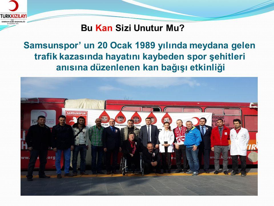 Mahalleler Kan Bağışlıyor İlkadım Belediyesi, Türk Kızılayı Samsun Şubesi ve İlkadım İlçesi Mahalle Muhtarları işbirliği ile yürütülen kan bağışı projesi