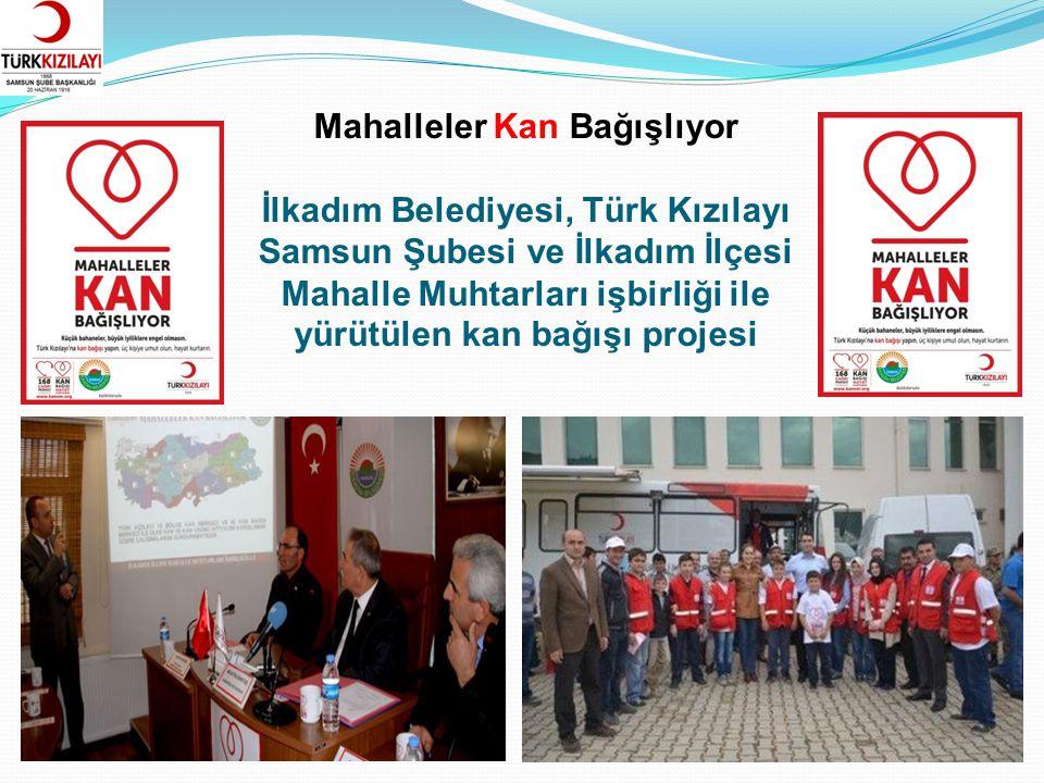 19 Mayıs 1919 Kan Bağışı Samsun Gençlik Hizmetleri ve Spor İl Müdürlüğü, Türk Kızılayı Samsun Şubesi ve Samsun Gençlik Merkezleri işbirliği ile gerçekleştirilen kan bağışı projesi.