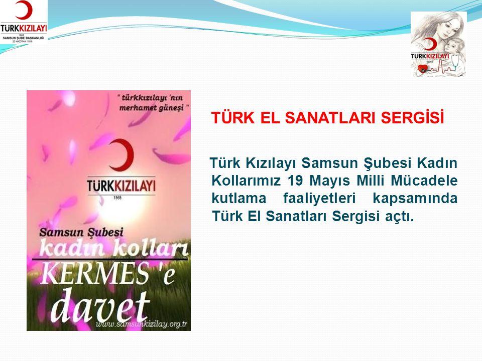 Türk Kızılayı Samsun Şubesi Kadın Kolları il merkezindeki kadın yöneticiler ile kahvaltılı toplantıya ev sahipliği yaptı.