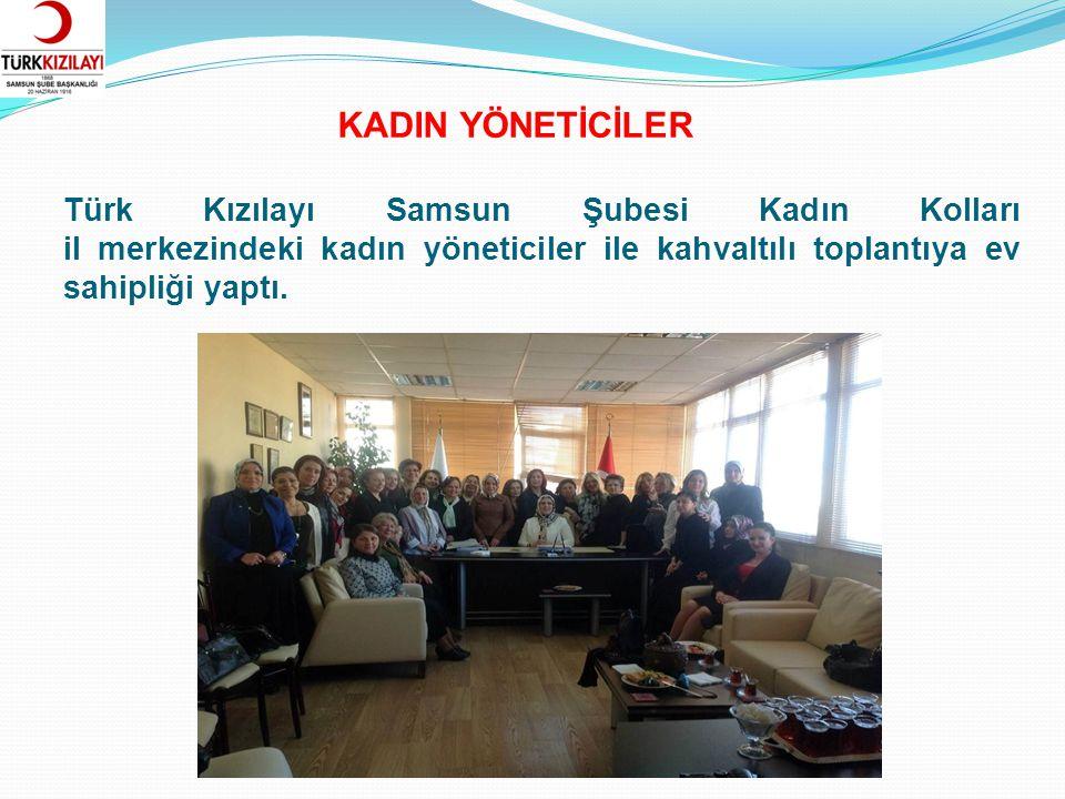 Türk Kızılayı Kadın Kolları Üyeleri ve Samsun Halk Sağlığı Müdürlüğü, ev hanımlarına yönelik Sağlıklı Yaşam Hareket Faaliyetleri kapsamında düzenlenen yürüyüşe katıldı.