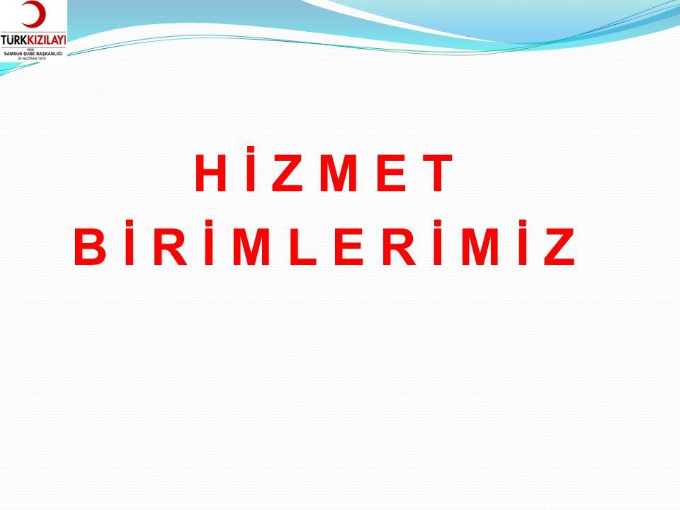 ORTA KARADENİZ BÖLGE KAN MERKEZİ Merkezi Samsun olan Türk Kızılayı Orta Karadeniz Bölge Kan Merkezi Amasya, Ordu, Samsun, Sinop ve Tokat'ta faaliyet göstermektedir.