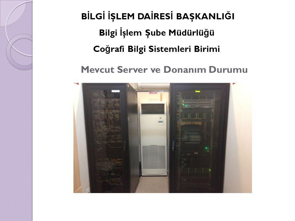 Mevcut Server ve Donanım Durumu