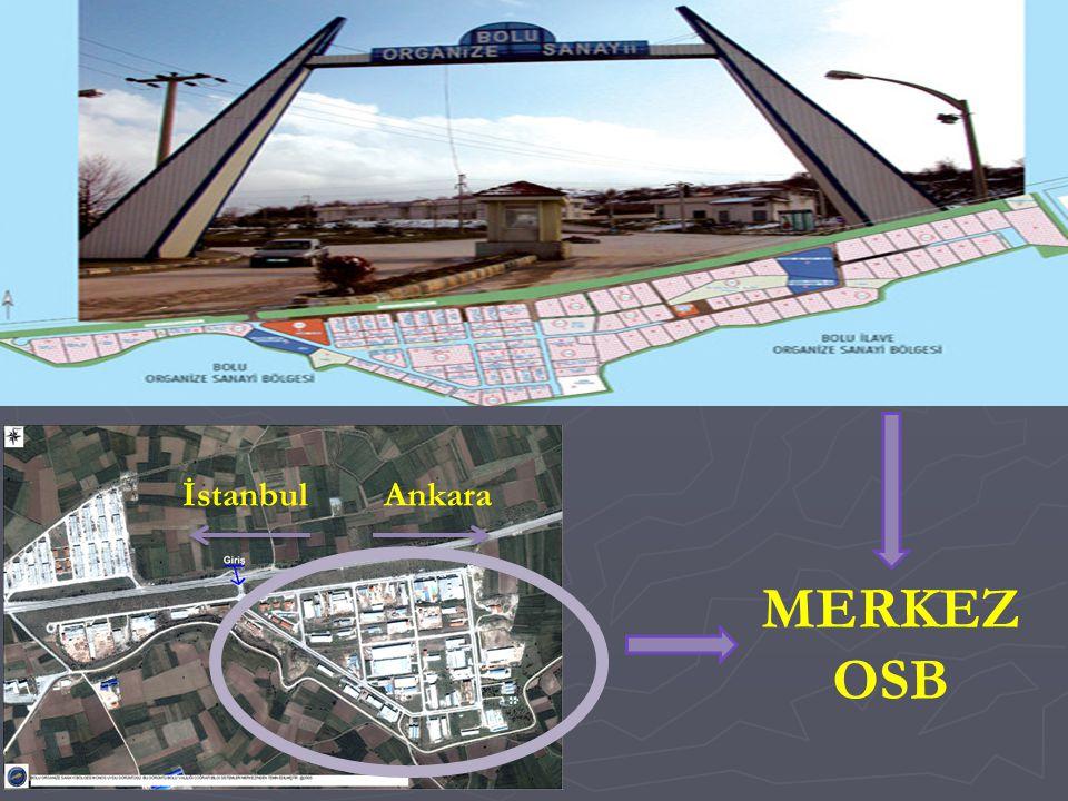 Ankaraİstanbul MERKEZ OSB
