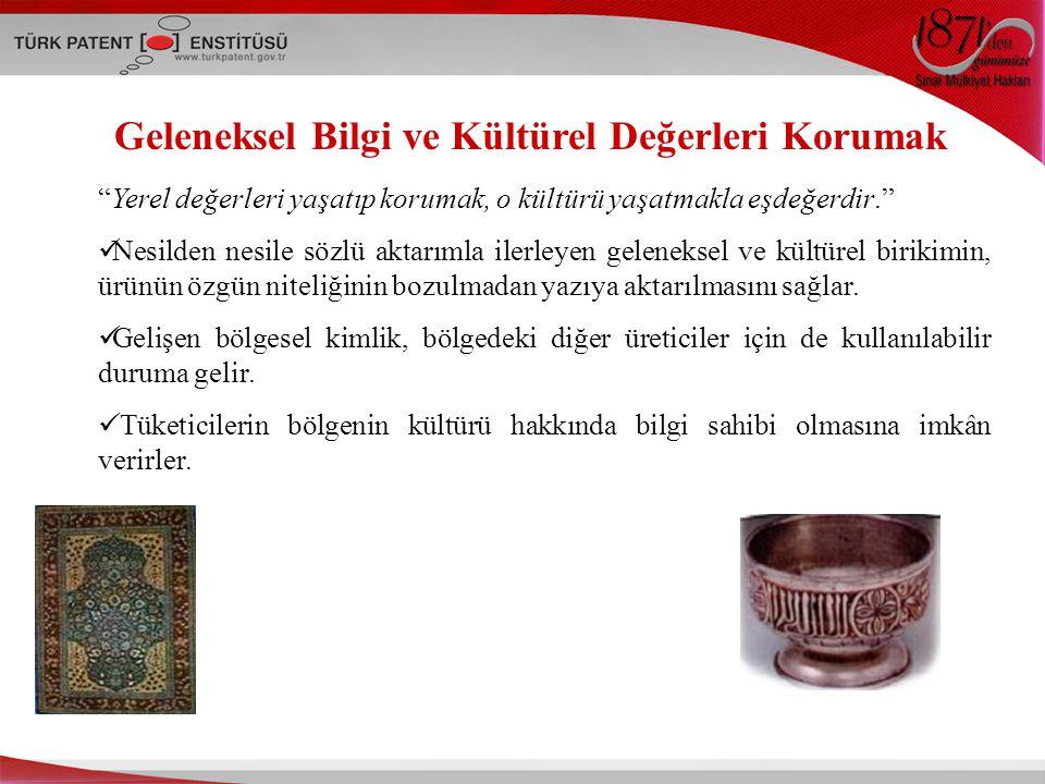 Türkiye'de Coğrafi İşaretlerin Ekonomiye Katkısı  2005, TPE, Envanter çalışması, İl valilikleri - Amaç Cİ kapasitesini tespit etmek - Bu ürünlerin il ekonomisine olan katkısını belirlemek ÜRÜNÜRETİM MİKTARIİL EKONOMİSİNE KATKISI Amasya Misket Elması6056 ton/yıl4.239.200 TL Bartın Tel Kırma150.000 TL Giresun Fındığı100.000 ton/yıl650.000.000 TL Karaman Obruk Tulumu150 ton/yıl1.500.000 TL Turfanda Mut Kayısısı60.000 ton/yıl60.000 TL Lamas limonu500.000 ton / 2005yılı, İhraç 172.000 ton/2003yıl İhracat geliri 80 milyon $/ 2003 Kaman Cevizi1400-1500 ton/yıl500.000- 900.000 TL Malatya kayısısı 250.000; Ege pamuğunun en az 100.000 kişiye istihdam