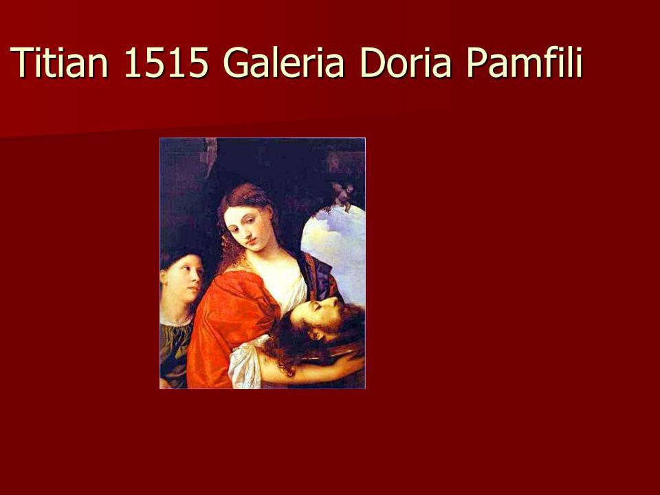 Titian 1515 Galeria Doria Pamfili