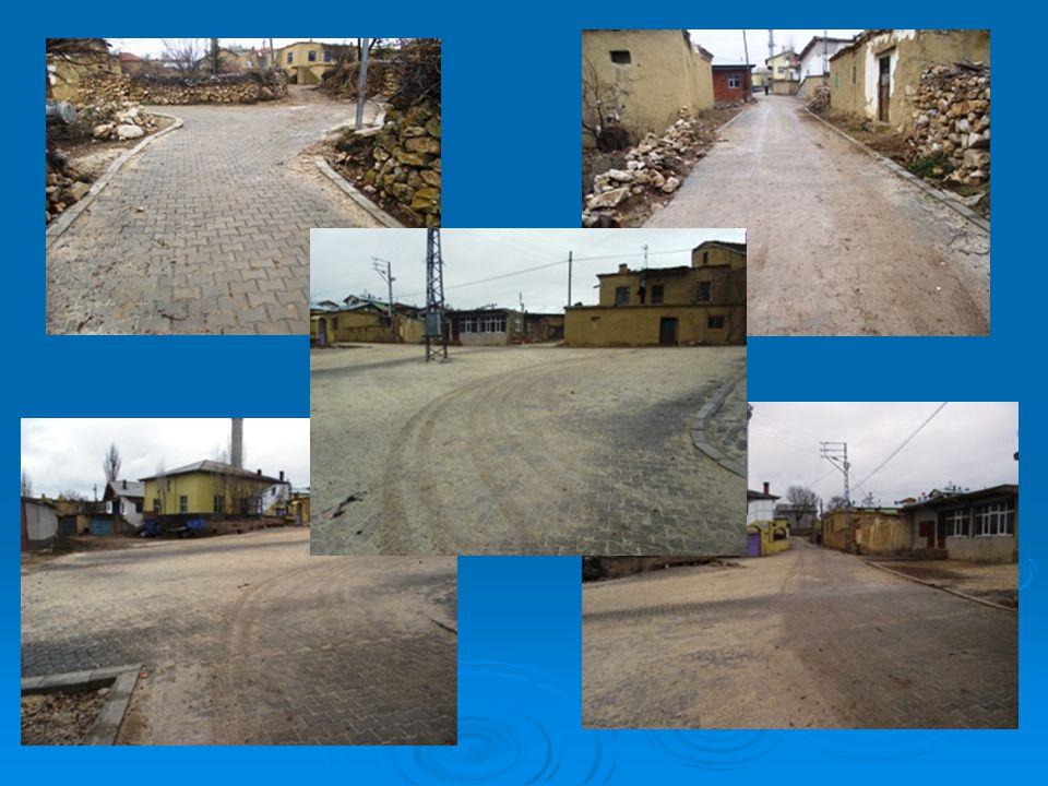 4-2010 yılı Köydes Proğramı kapsamında Yassıören Köyü köy içi yollarına 2.700 m2 kilitli taş ve 700 m beton bordür döşenmiş olup işin maliyeti toplam 40.000,00 TL'dir.